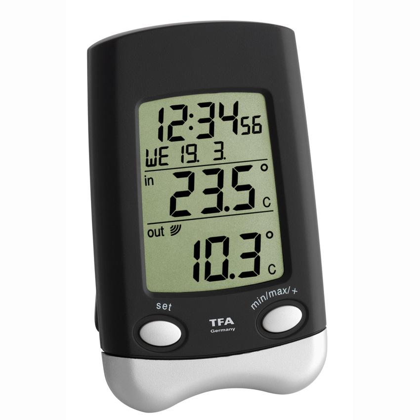 Часы механические TFA 60.1021.09 настольные